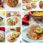Healthy kid-friendly dinner recipes with lots of fruits and veggies