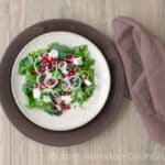 Vidalia Onion Pomegranate Goat Cheese Salad Recipe, featuring Lil' Bo's Vidalia Onions