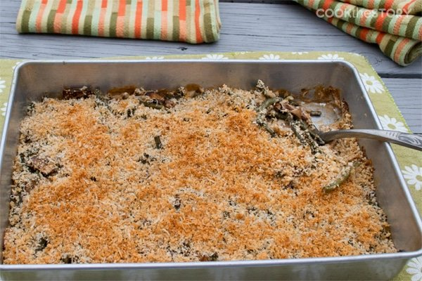 Easy Green Bean Casserole made from Scratch