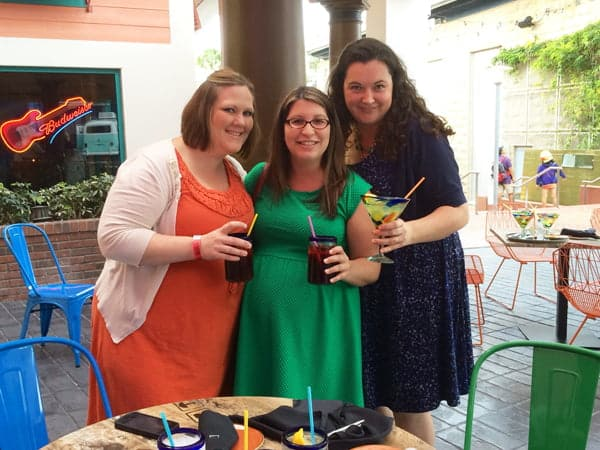 Here I am at a local media event with Katie (middle) and another blogger, Kristin (left) from Yellow Bliss Road.
