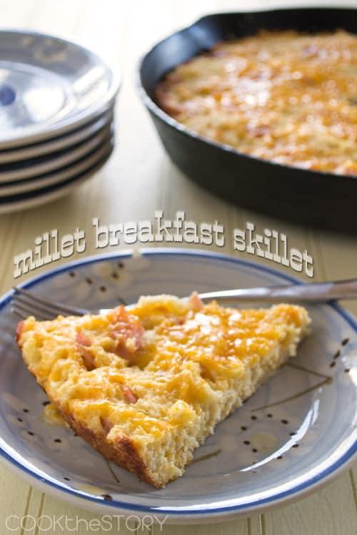 Millet Breakfast Skillet Recipe