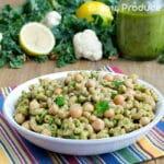 Cauliflower and Kale Pesto Pasta Recipe