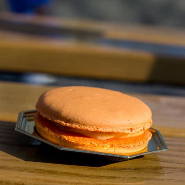 Macaron a la Fleur d'Oranger from Fleur de Lys at the Epcot Flower and Garden Festival 2014