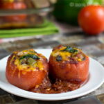 Enchilada Stuffed Tomatoes