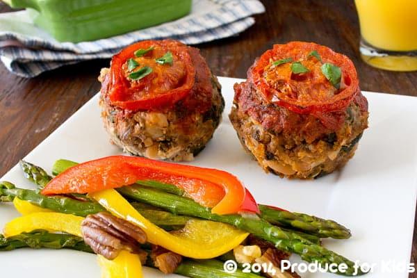 Gluten-Free Meatloaf Muffins with Zesty Italian Flavor