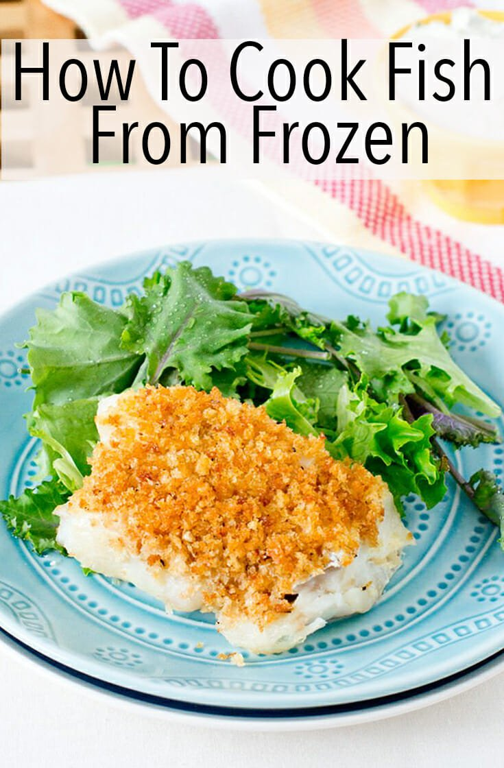Fish has never been more convenient. Here is the explanation for how to cook fish from frozen. Super-simple with tender flaky results every time. And a bunch of recipes to try as well. #fish #dinner #healthydinner #fishdinner #lowcarb #glutenfree #easyrecipe