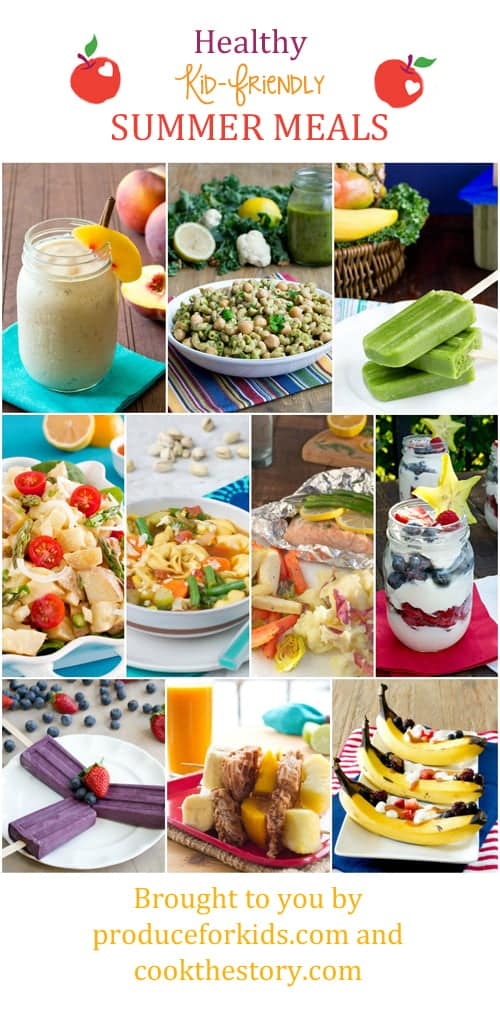 Healthy Kid-Friendly Summer Meals