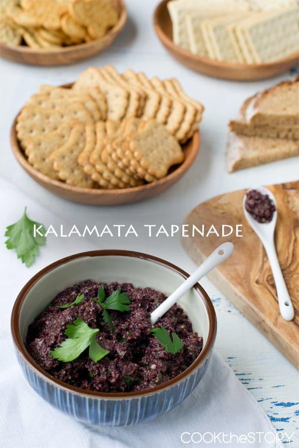 Quick Kalamata Tapenade