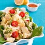 Healthy Potato Salad Recipe with Greek Yogurt and Veggies