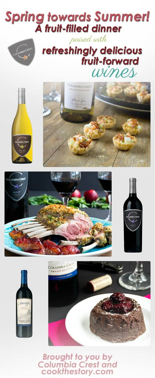 A Spring Dinner with Wine Pairings