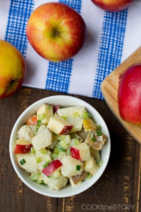 Apple Potato Salad