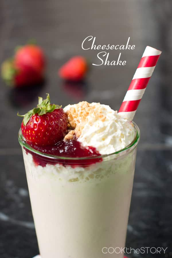 Cheesecake Milkshake Recipe