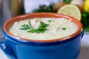 Avgolemono Soup (Greek Lemon Soup Recipe)