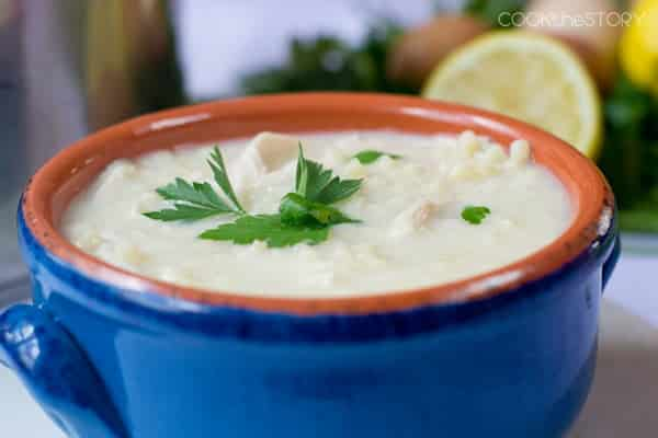 Avgolemono Soup (Greek Lemon Soup Recipe)