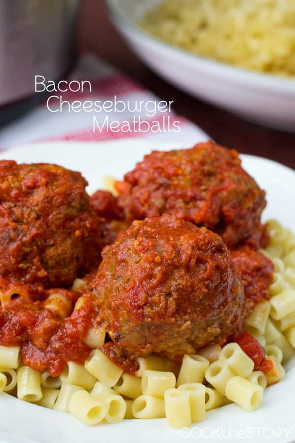 Slow Cooker Cheeseburger Meatballs