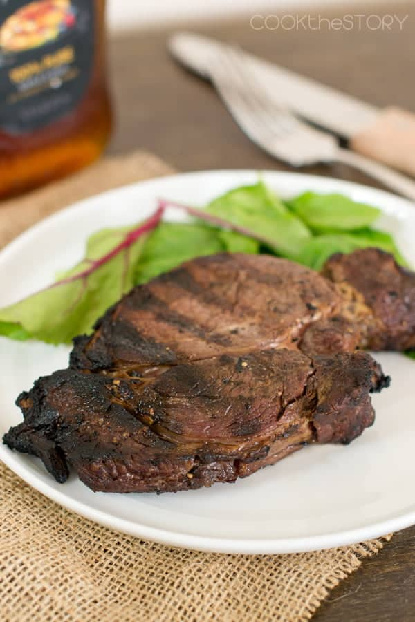Maple Soaked Steaks