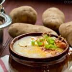 Loaded Potato Soup in 15