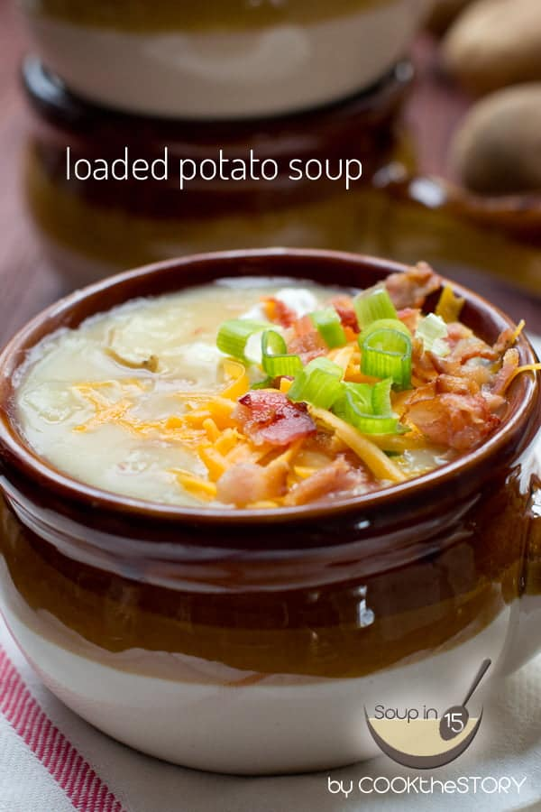 Loaded Easy Potato Soup Recipe
