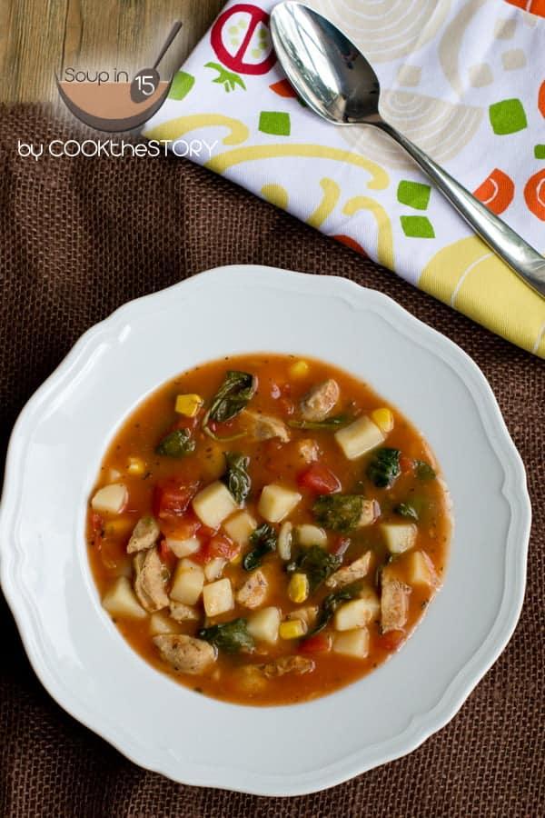 Hearty Tomato Potato Soup