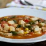 Hearty Tomato Potato Soup in 15