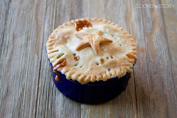 Individual Butterscotch Apple Pie Recipe