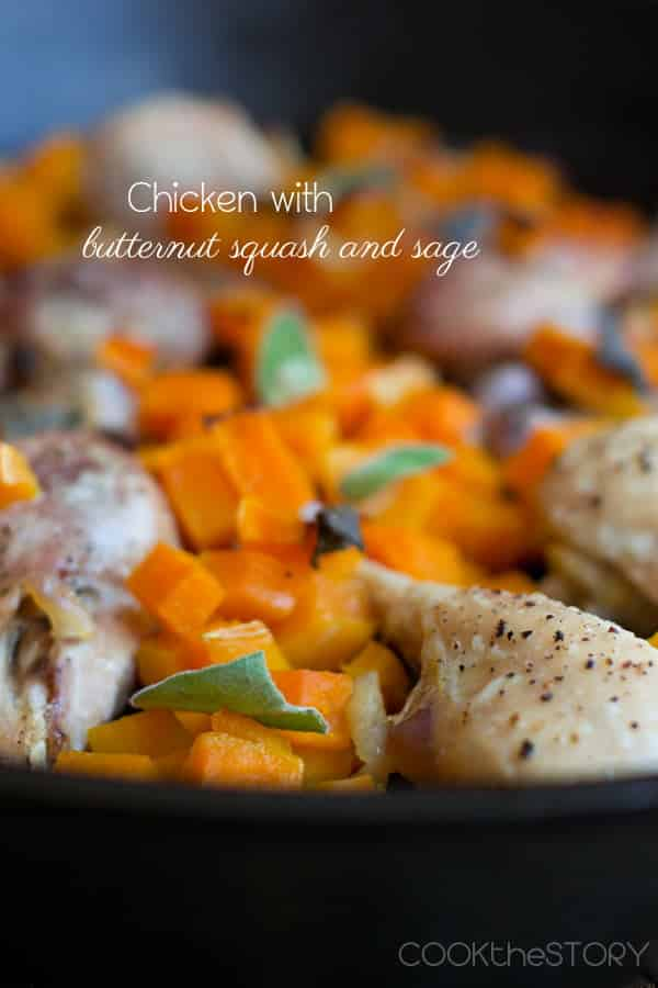 Chicken with Butternut Squash and Sage