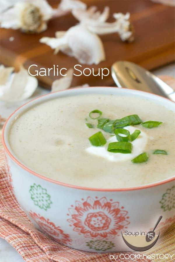 Easy Garlic Soup Recipe