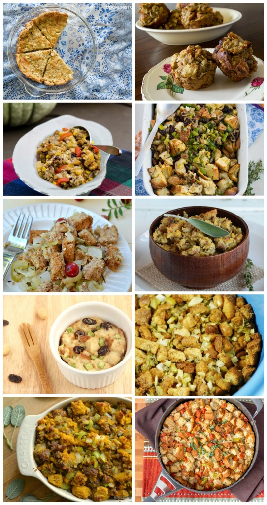 Stuffing Roundup - Cookthestory.com