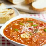 Pizza Soup in 15 Minutes