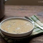 Cream of Mushroom Soup in 15