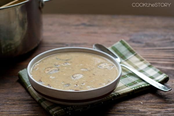 Easy Cream of Mushroom Soup in 15 minutes