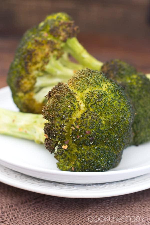Whole Oven Roasted Broccoli Recipe