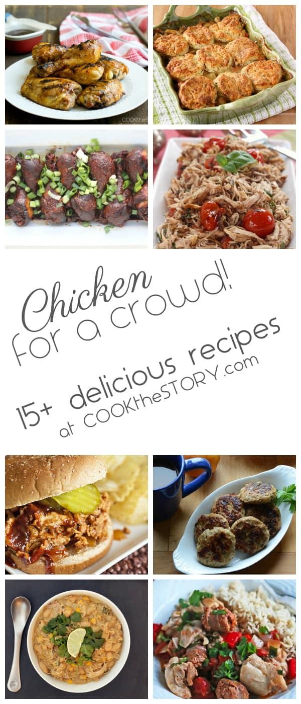 Easy chicken recipes crowd