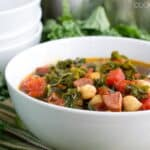 Kale Soup with Keilbasa