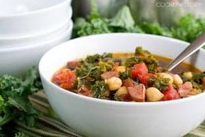 Kale Soup with Keilbasa
