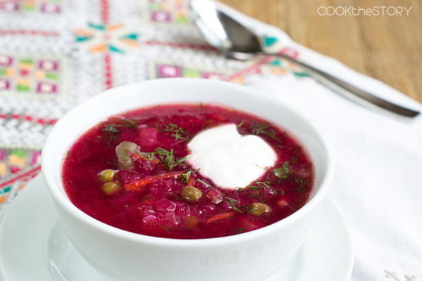 Easiest Homemade Borscht