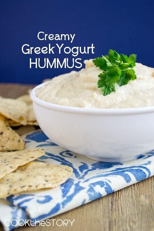 Greek Yogurt Hummus