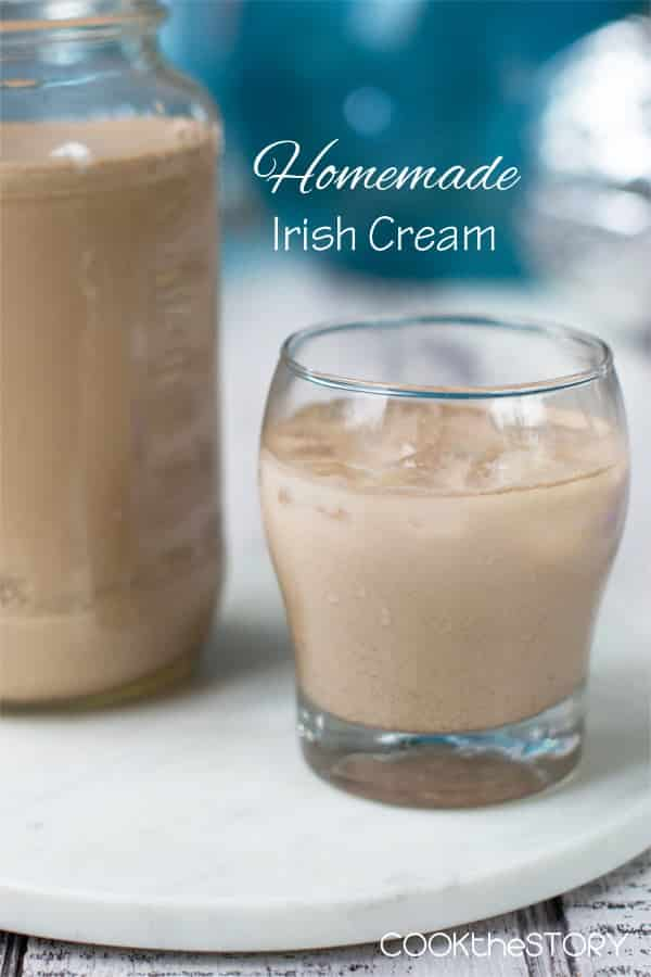 Homemade Irish Cream (but this version is a bit lighter due to a really smart substitution that you will never ever notice)