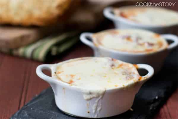 Mozzarella Fondue Soup in 15 Minutes