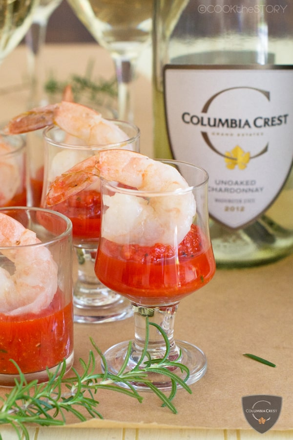 Shrimp Cocktail with Butter-Poached Shrimp