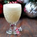 Light Eggnog Recipe - The perfect holiday drink.