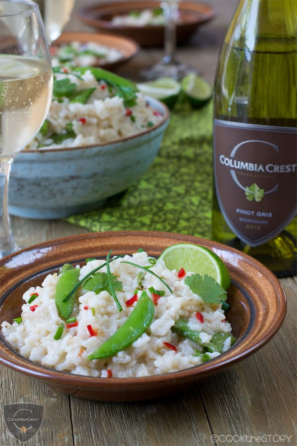 Asian Oven-Baked Risotto