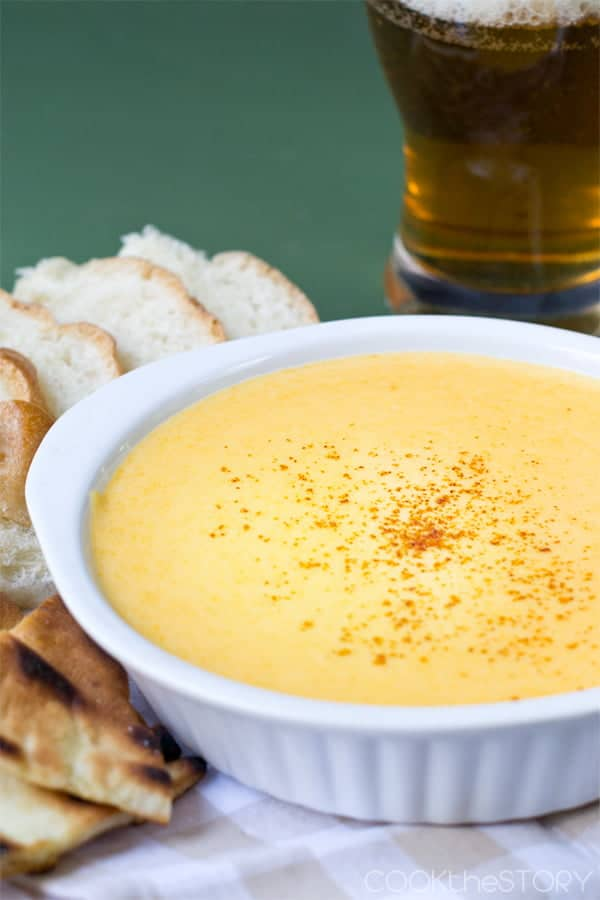 Easy Beer and Cheddar Dip