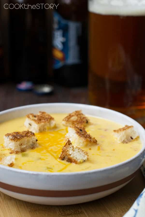 Quick and Easy Beer and Cheese Soup