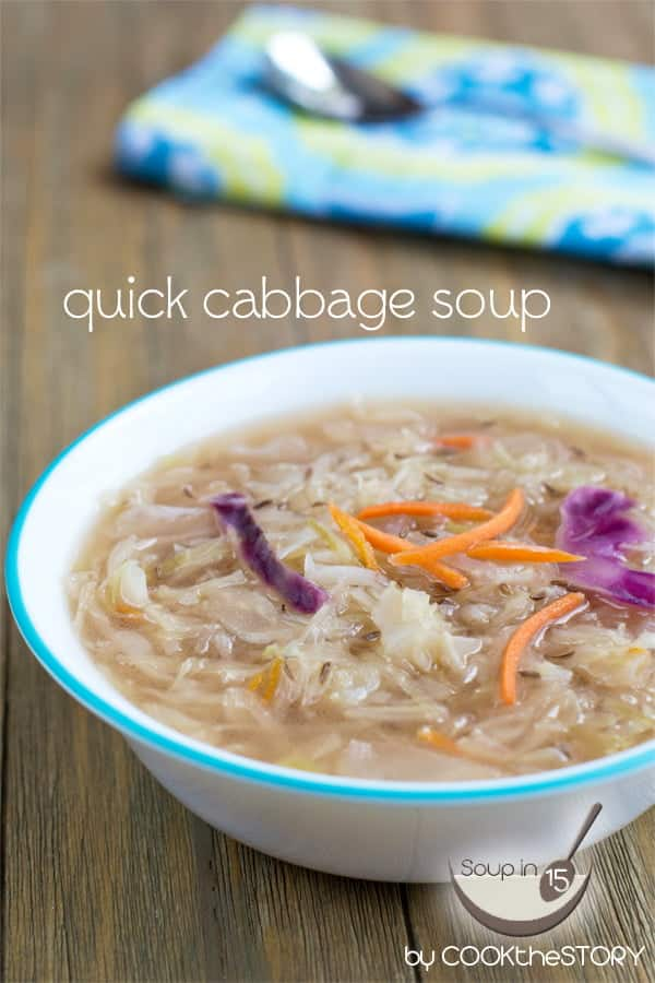 Quick Cabbage Soup