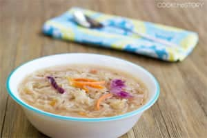 Quick and Easy Cabbage Soup