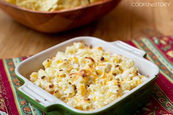 An easy game day appetizer: Macaroni and Cheese Dip