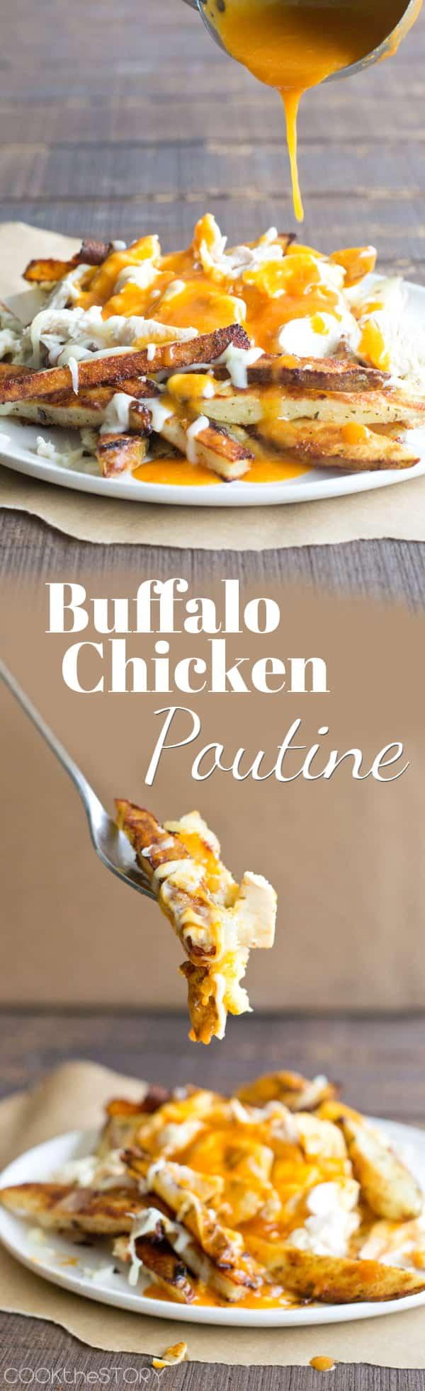 Buffalo Chicken Poutine