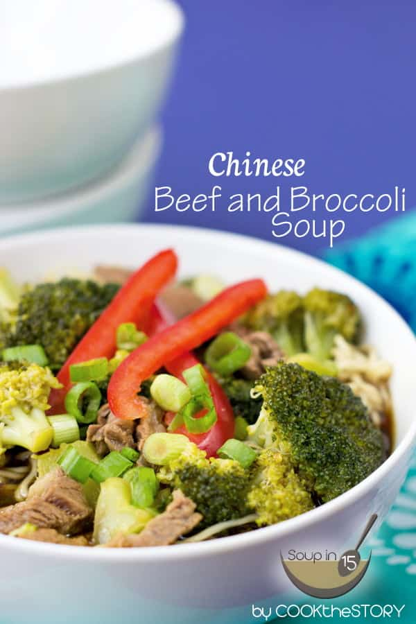 15-Minute Chinese Beef and Broccoli Noodle Soup