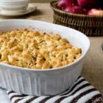 Apple Cobbler with Crescent Roll Topping